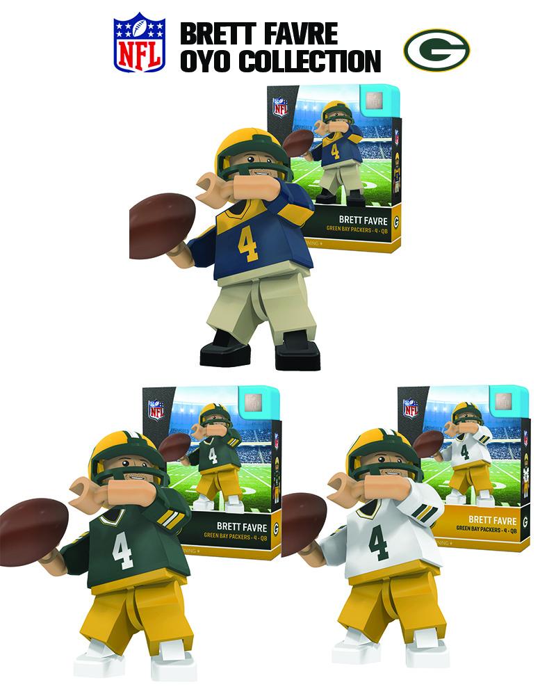 OYO Sports | Green Bay Packers OYO minifigures & Field Sets