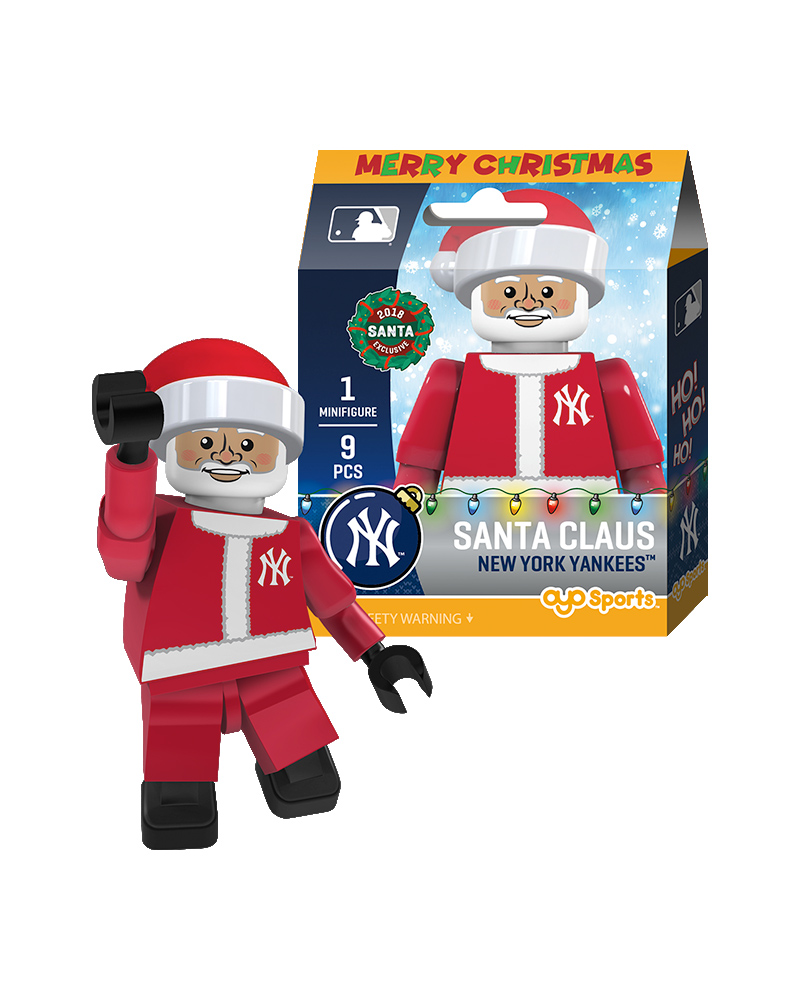 ca445ae37 Santa Claus : New York Yankees| OYO Sports | MLB Minifigures & Buildables