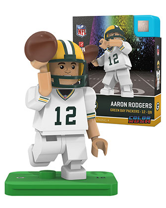 Aaron Rodgers Color Rush : Green Bay Packers