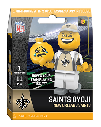 OYO Sports | New Orleans Saints OYO minifigures & Field Sets