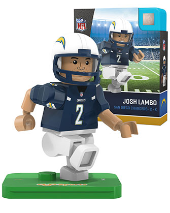OYO Sports | San Diego Chargers OYO minifigures & Field Sets