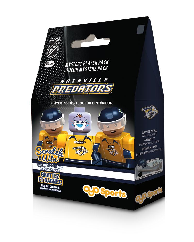 NHL - NSH - Nashville Predators Blind Player Pack 49974
