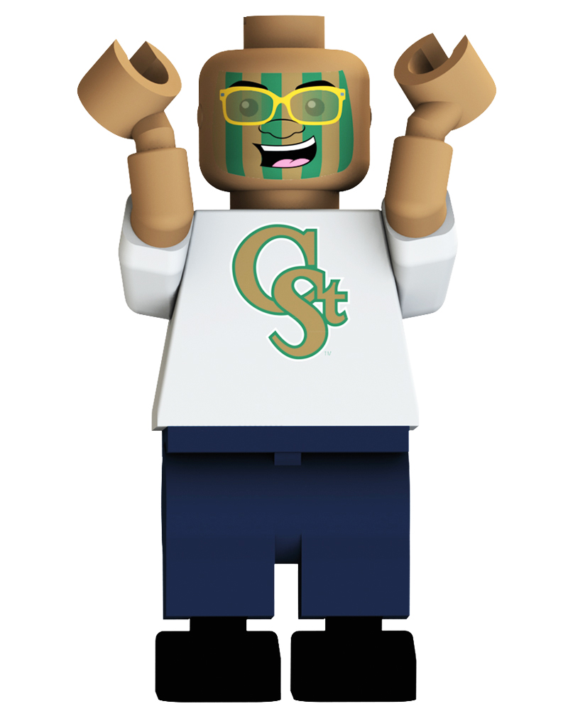 CFB CSU Colorado State Rams Loudest Fan Blind Character Pack