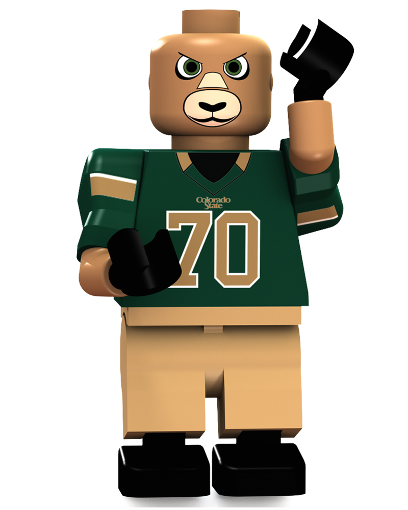 CFB CSU Colorado State Rams Mascot Limited Edition