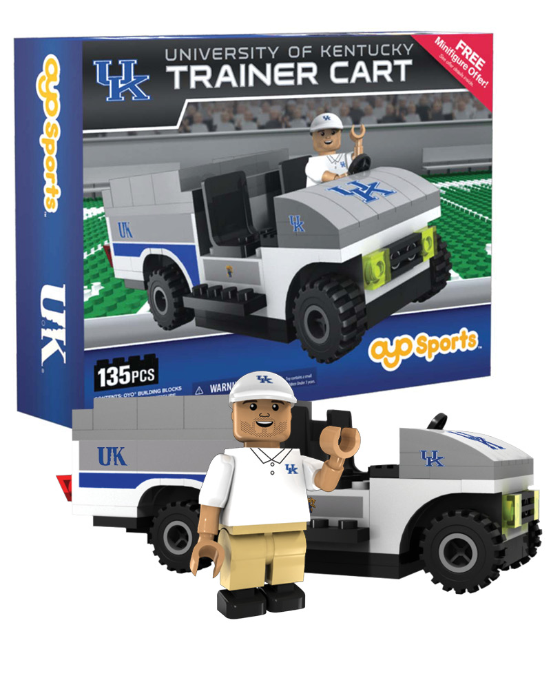 CFB KEN Kentucky Wildcats Trainer Cart
