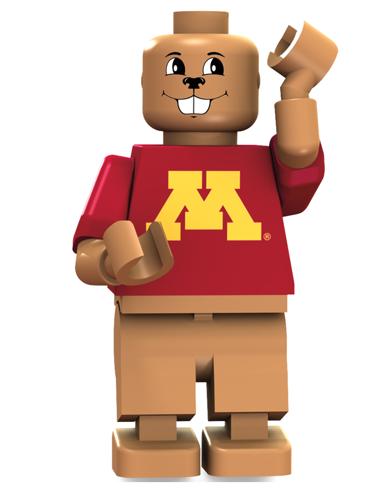 CFB MIN Minnesota Gophers Mascot Limited Edition
