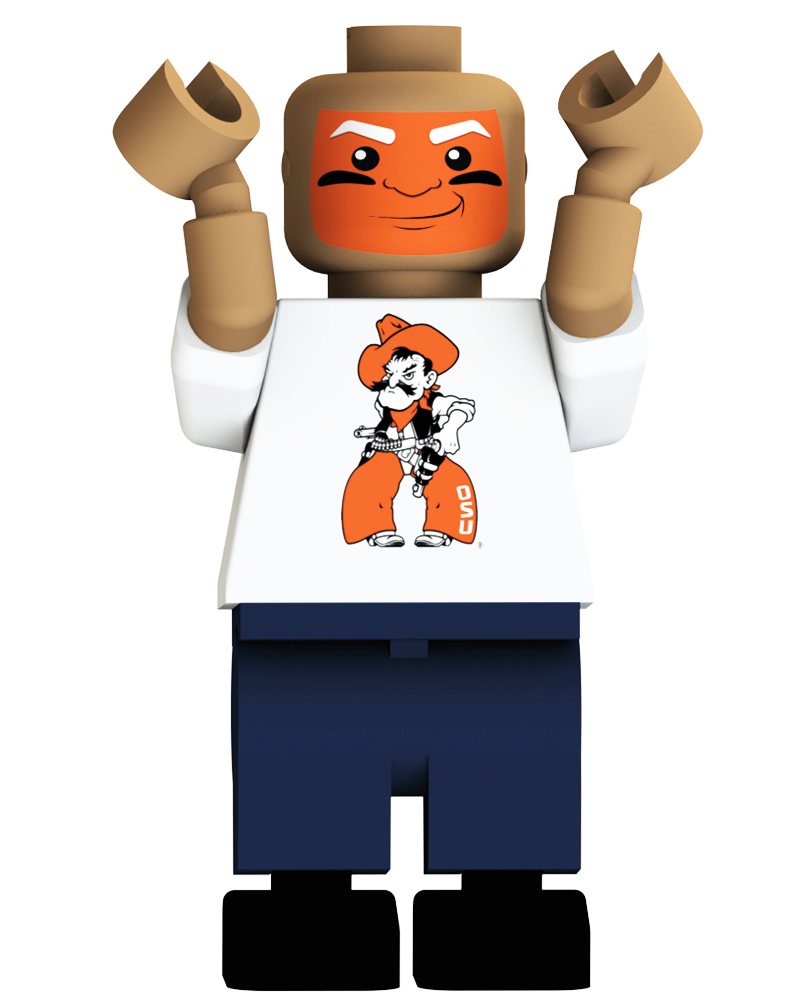 CFB OKL Oklahoma State Cowboys Loudest Fan Blind Character Pack
