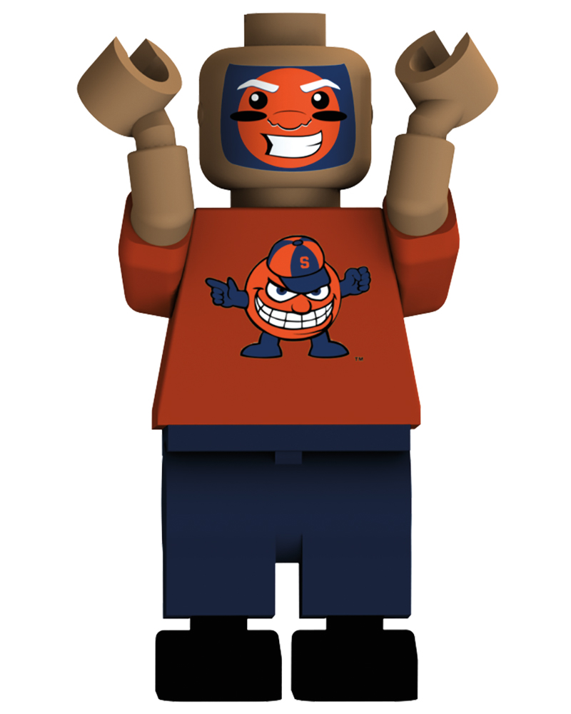 CFB SYR Syracuse Orange Loudest Fan Blind Character Pack