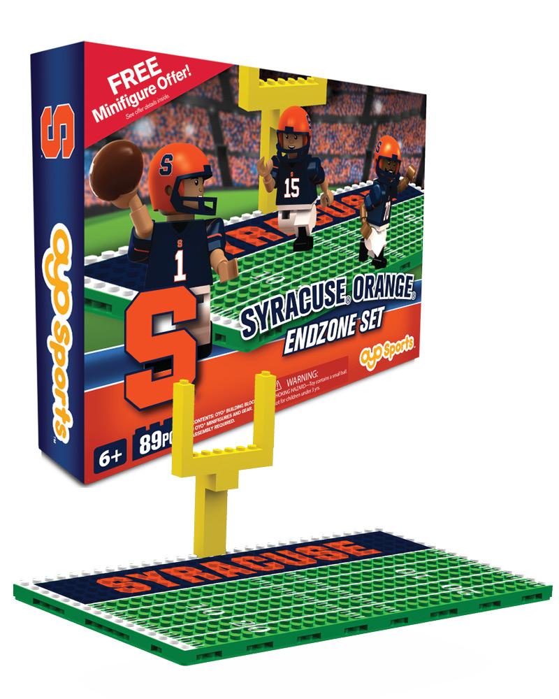 CFB SYR Syracuse Orange Football Endzone Set