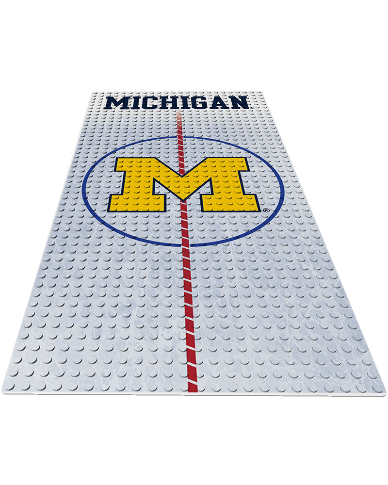 CHK MIC Michigan Wolverines 0 1 24X48 DISPLAY BRICK