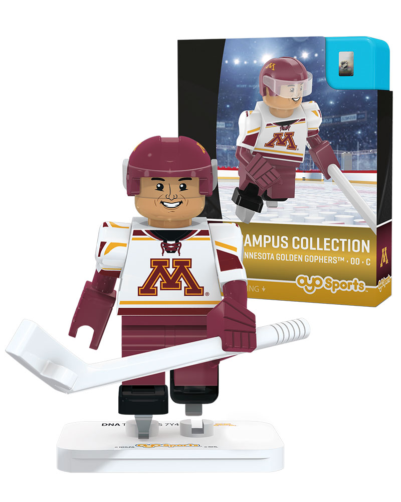 CHK MIN University of Minnesota Golden Gophers CAMPUS COLLECTION Collector Series Home Uniform Limited Edition