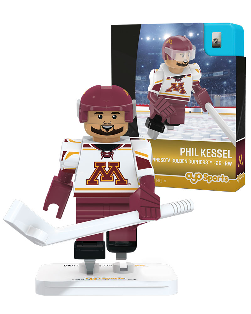 CHK MIN University of Minnesota Golden Gophers PHIL KESSEL Campus Legend Home Uniform Limited Edition