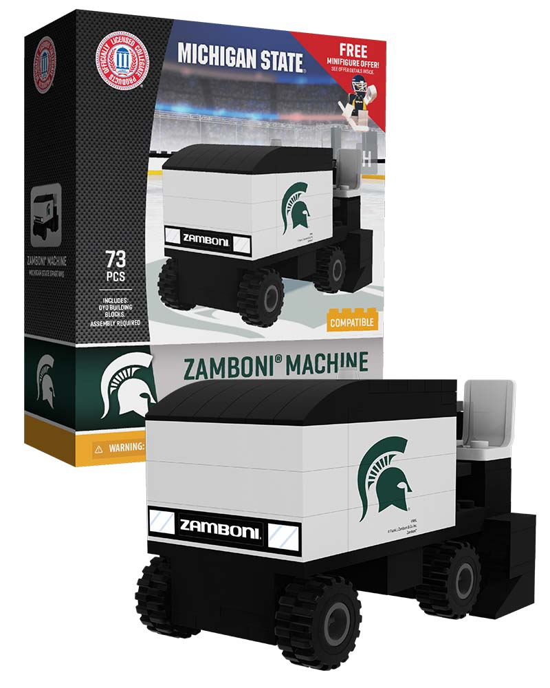 CHK MSU Michigan State University Spartans Hockey Zamboni Set