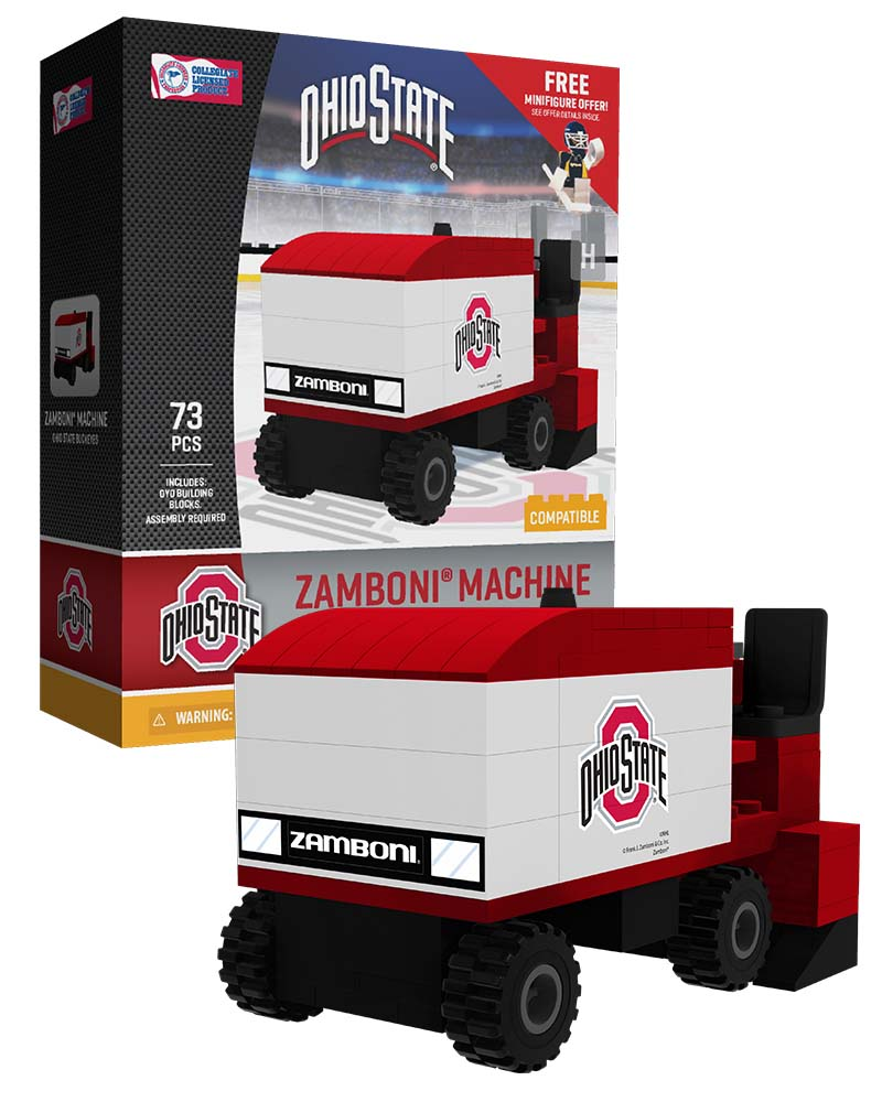 CHK OSU Ohio State University Buckeyes Hockey Zamboni Set