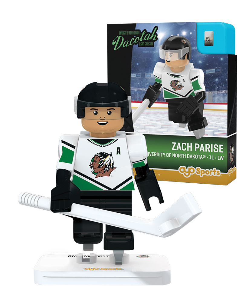 CHK UND University of North Dakota ZACH PARISE Campus Legend Retro Uniform Limited Edition