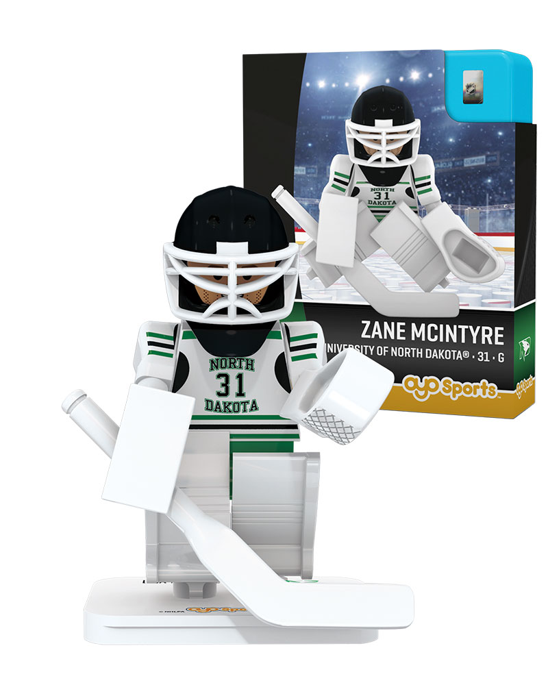 CHK UND University of North Dakota ZANE MCINTYRE Campus Legend Home Uniform Limited Edition