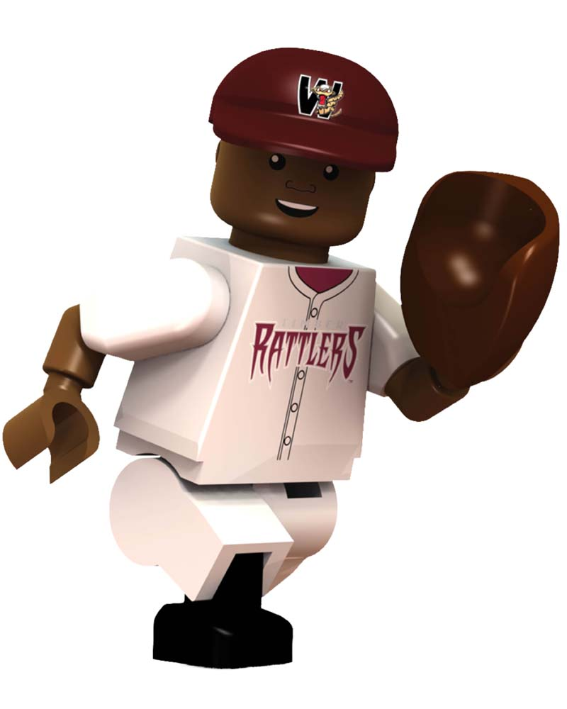 MIB WIS Wisconsin Timber Rattlers MONTE HARRISON Limited Edition