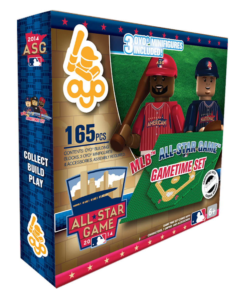 MLB - A14 - ALL Star MIN 2014 N/A N/A All Star Game 2014 Baseball Gametime Set