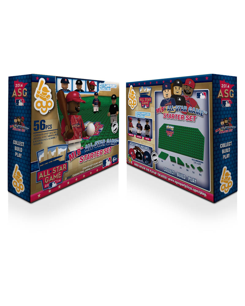 MLB - A14 - ALL Star MIN 2014 N/A N/A All Star Game 2014 Baseball Starter Set