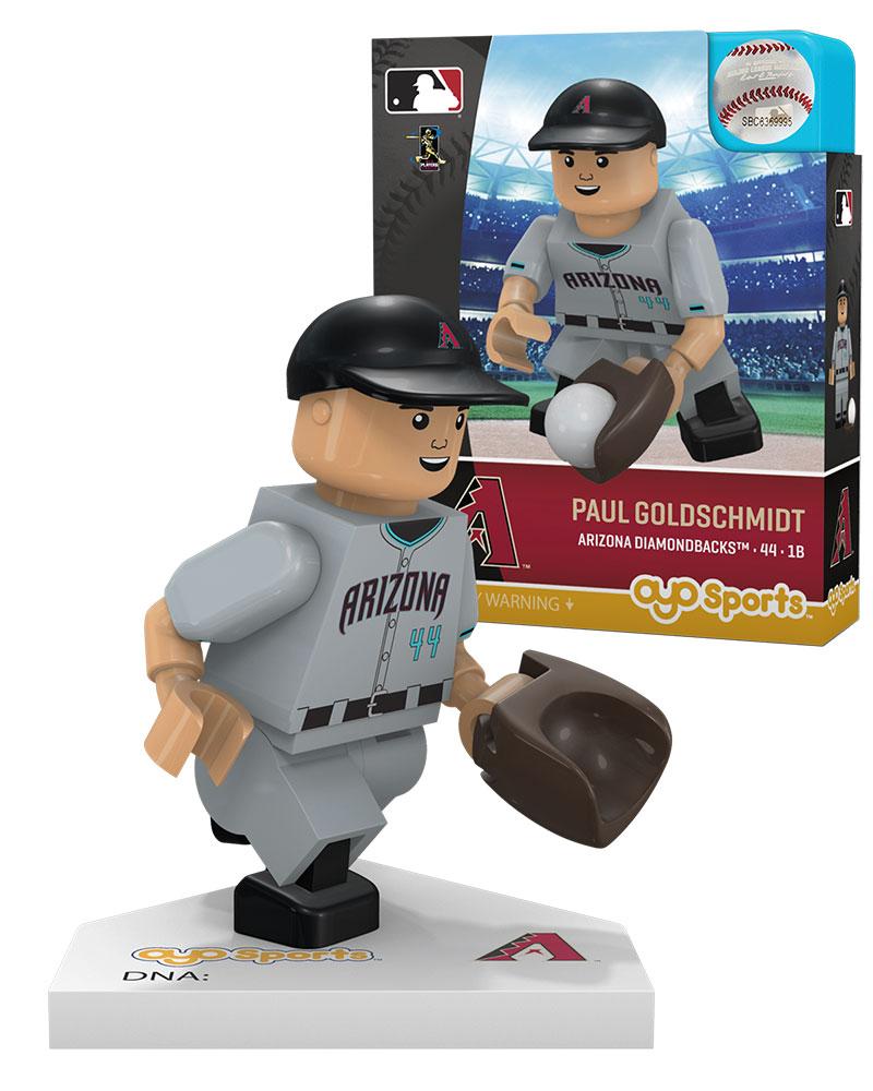 MLB ARZ ArizonaÿDiamondbacks PAUL GOLDSCHMIDT Alternate Road Uniform Limited Edition