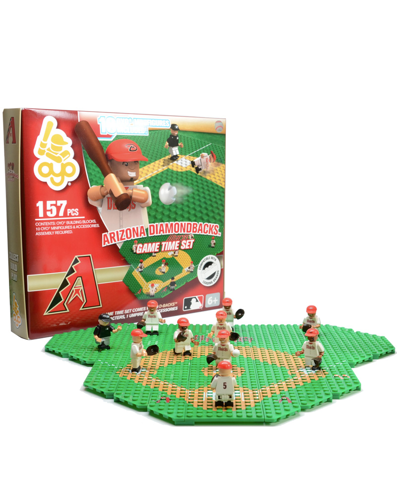 MLB ARZ Arizona Diamondbacks Baseball Gametime Set 1.5