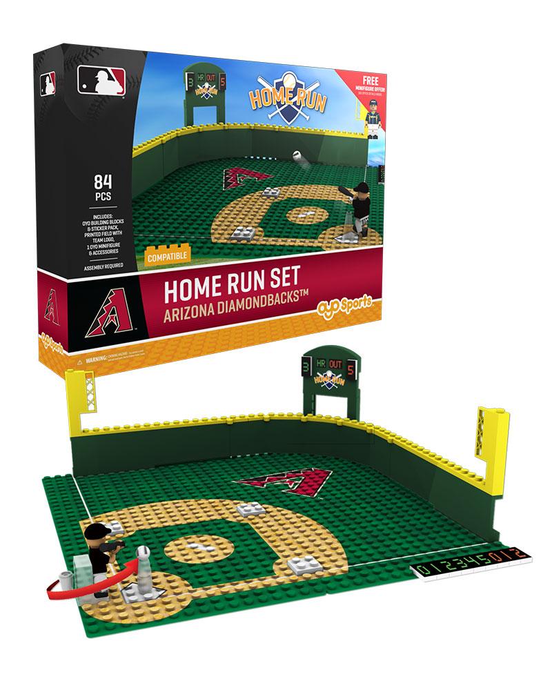 MLB ARZ ArizonaÿDiamondbacks Baseball Home Run Derby Set