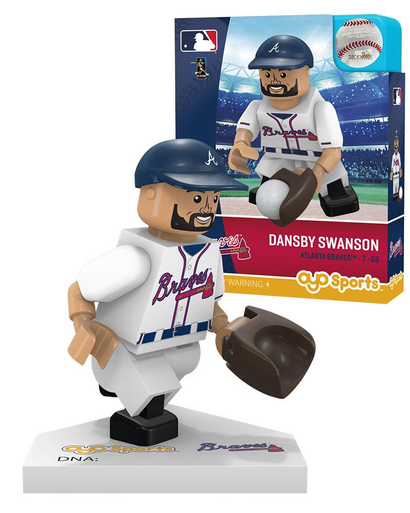 MLB ATL AtlantaÿBraves DANSBY SWANSON Home Uniform Limited Edition