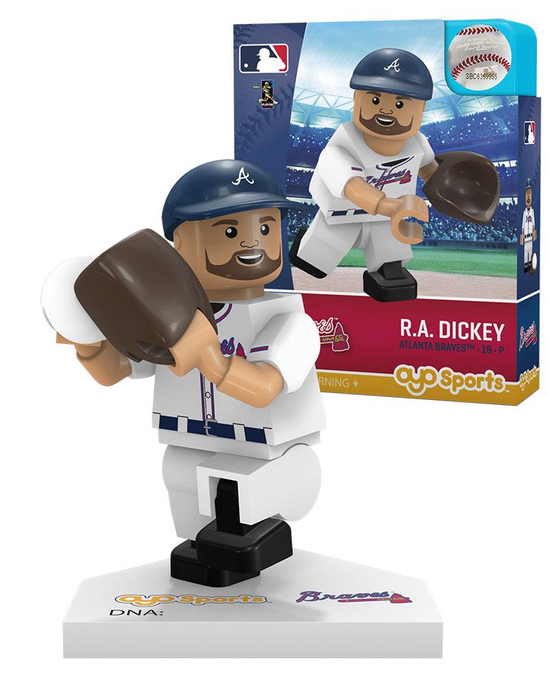 MLB ATL AtlantaÿBraves R.A. DICKEY Home Uniform Limited Edition