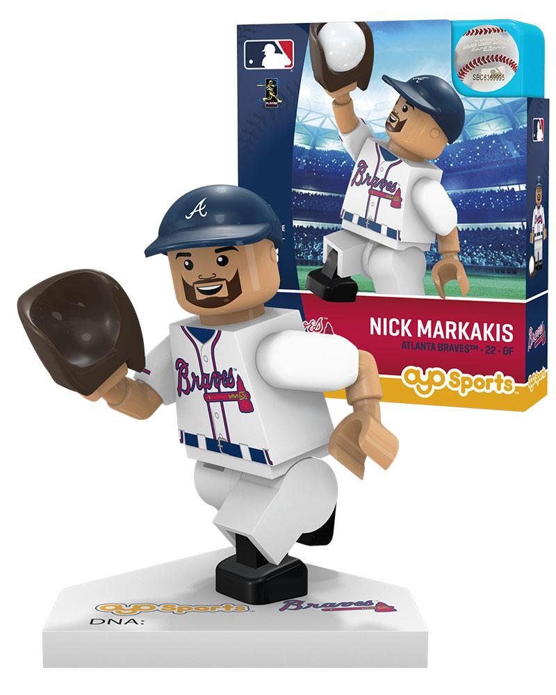 MLB ATL AtlantaÿBraves NICK MARKAKIS Home Uniform Limited Edition