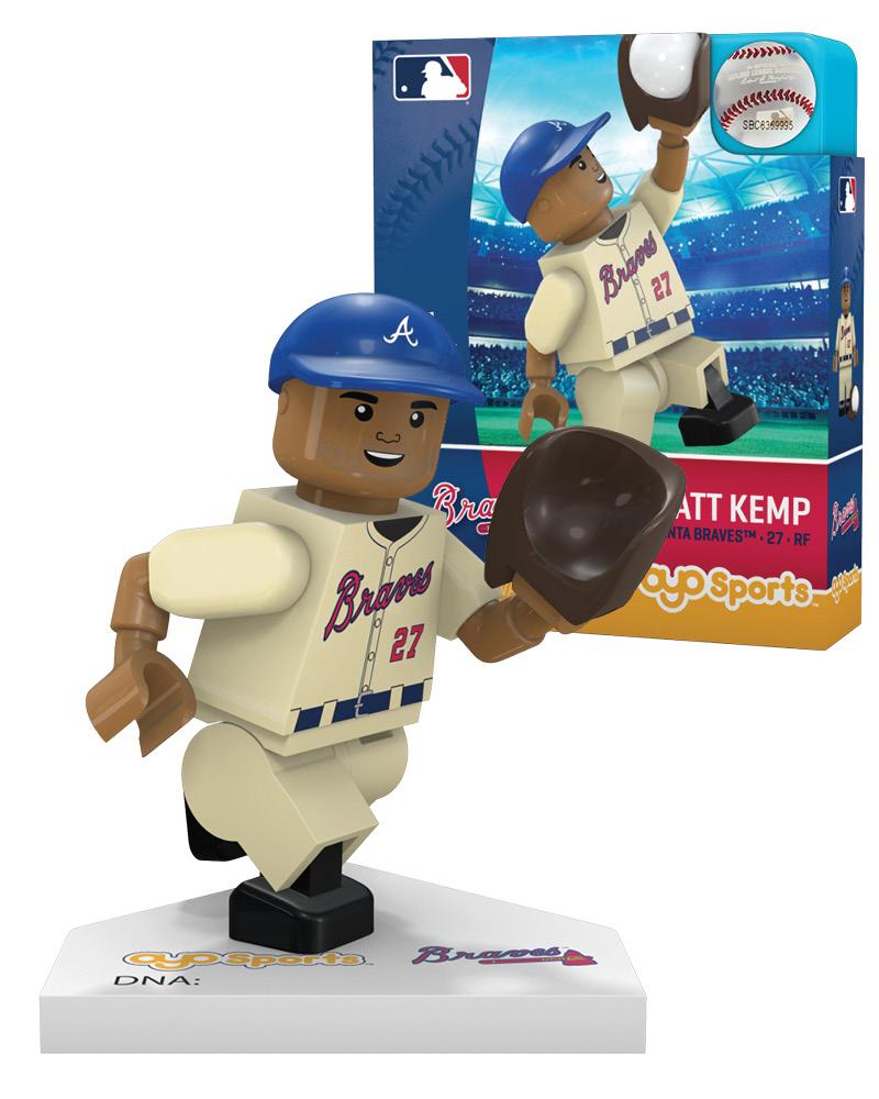 MLB ATL Atlanta Braves MATT KEMP Limited Edition