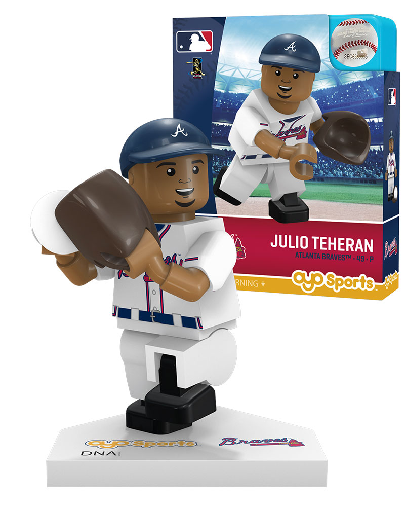 MLB ATL AtlantaÿBraves JULIO TEHERAN Home Uniform Limited Edition