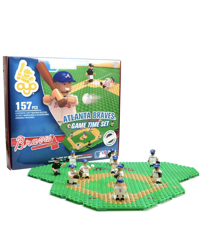 MLB ATL Atlanta Braves Baseball Gametime Set 1.5