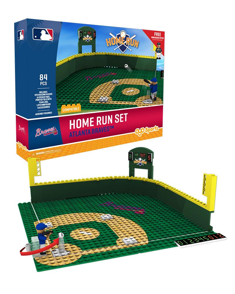 MLB ATL AtlantaÿBraves Baseball Home Run Derby Set