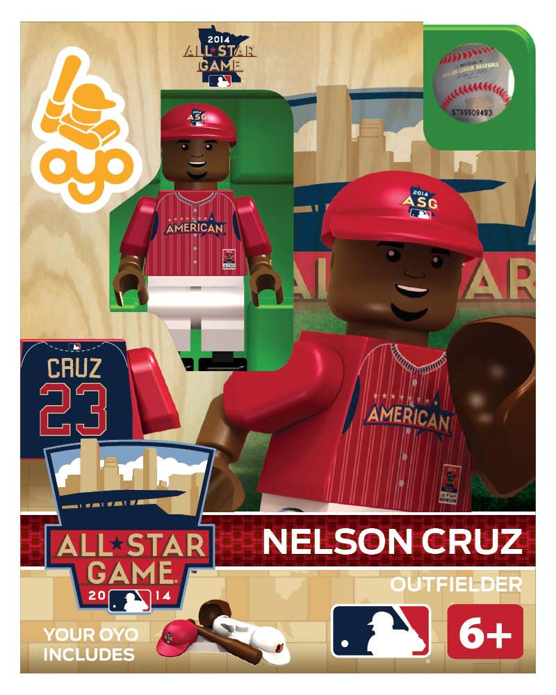 MLB - BAL - Baltimore Orioles Nelson Cruz All Star Game 2014 Limited Edition