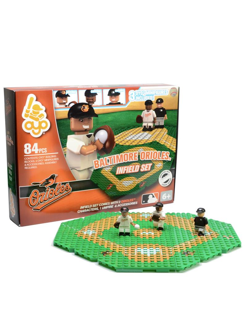MLB BAL Baltimore Orioles N A N A Baseball Infield Set