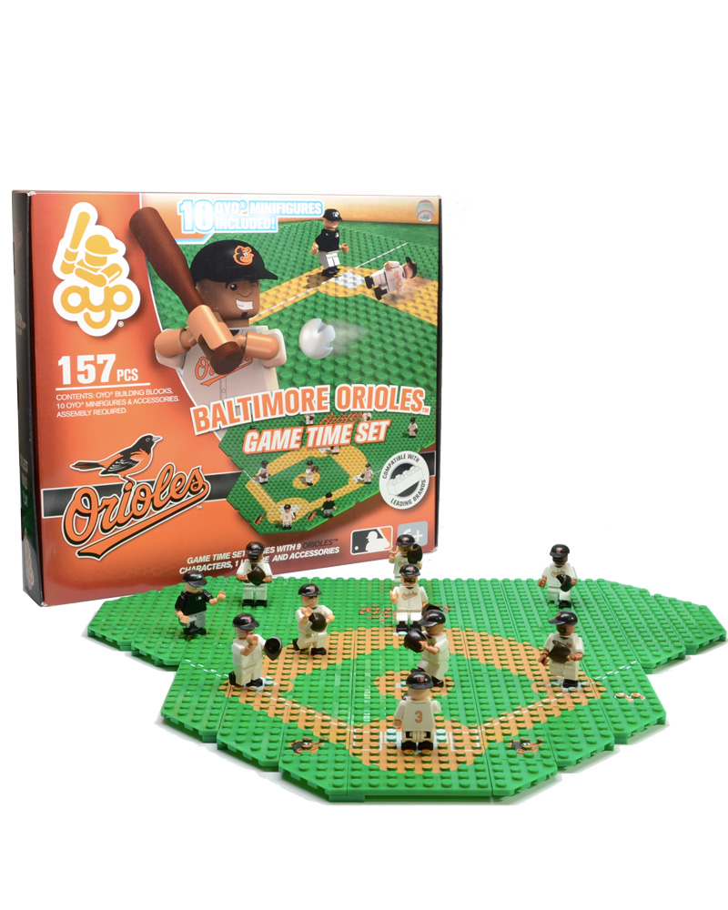 MLB BAL Baltimore Orioles Baseball Gametime Set 1.5