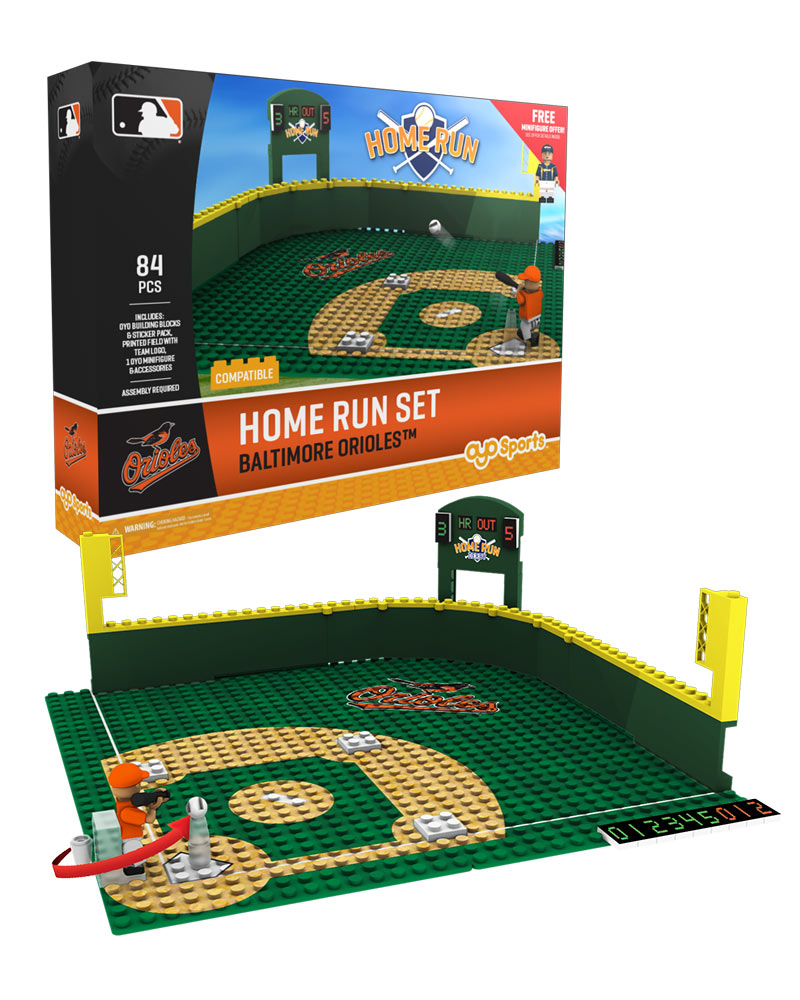 MLB BAL BaltimoreÿOrioles Baseball Home Run Derby Set