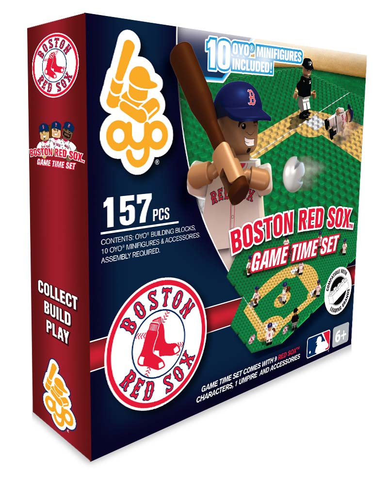 MLB - BOS - Boston Red Sox N/A N/A Baseball Gametime Set