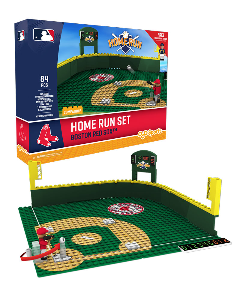 MLB BOS BostonÿRedÿSox Baseball Home Run Derby Set