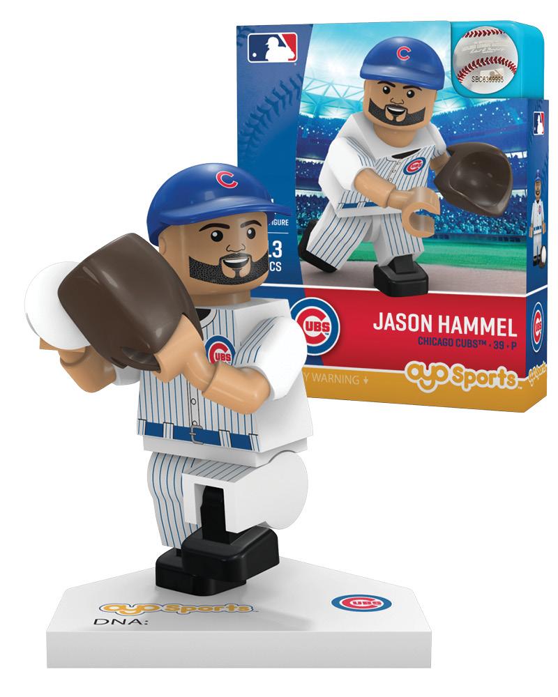 MLB CHC Chicago Cubs JASON HAMMEL Limited Edition