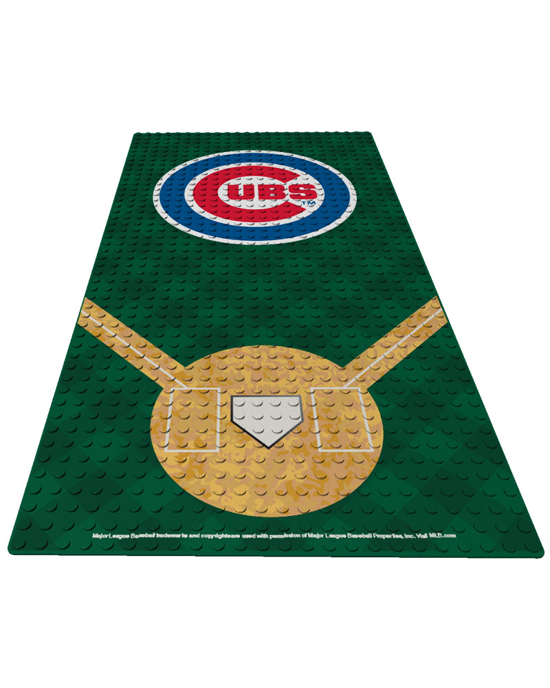 MLB CHC ChicagoÿCubs Generation Standard 1 24X48 DISPLAY BRICK