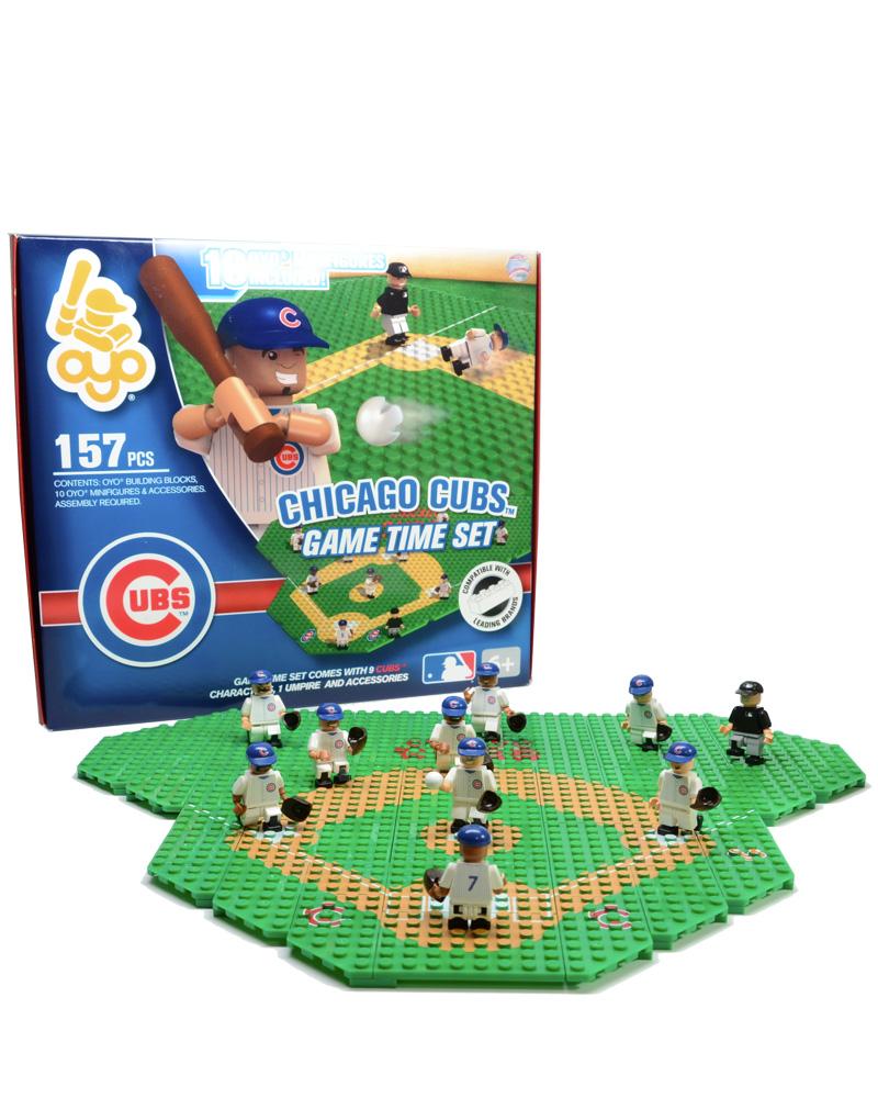 MLB CHC Chicago Cubs Baseball Gametime Set 1.5