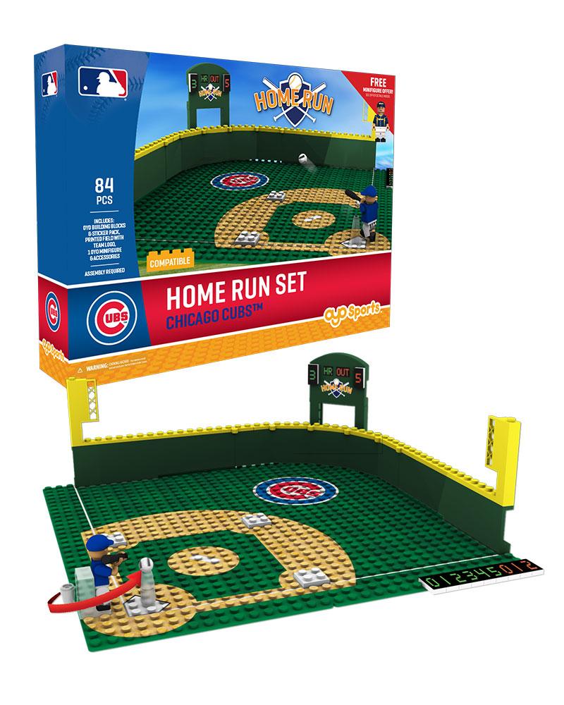 MLB CHC ChicagoÿCubs Baseball Home Run Derby Set