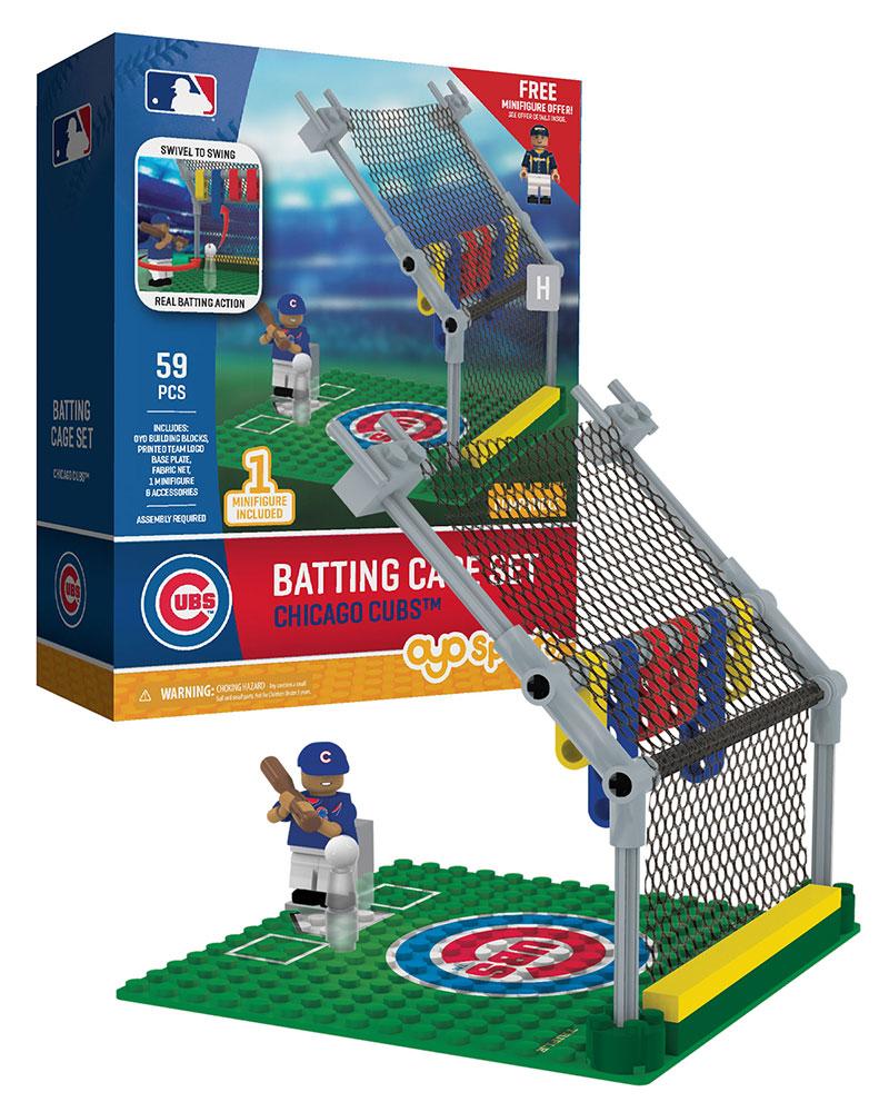 MLB CHC ChicagoÿCubs Baseball Batting Cage