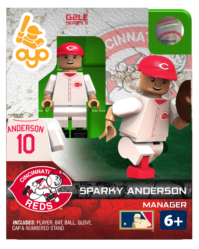MLB - CIN - Cincinnati Reds Sparky Anderson Hall of Fame Limited Edition