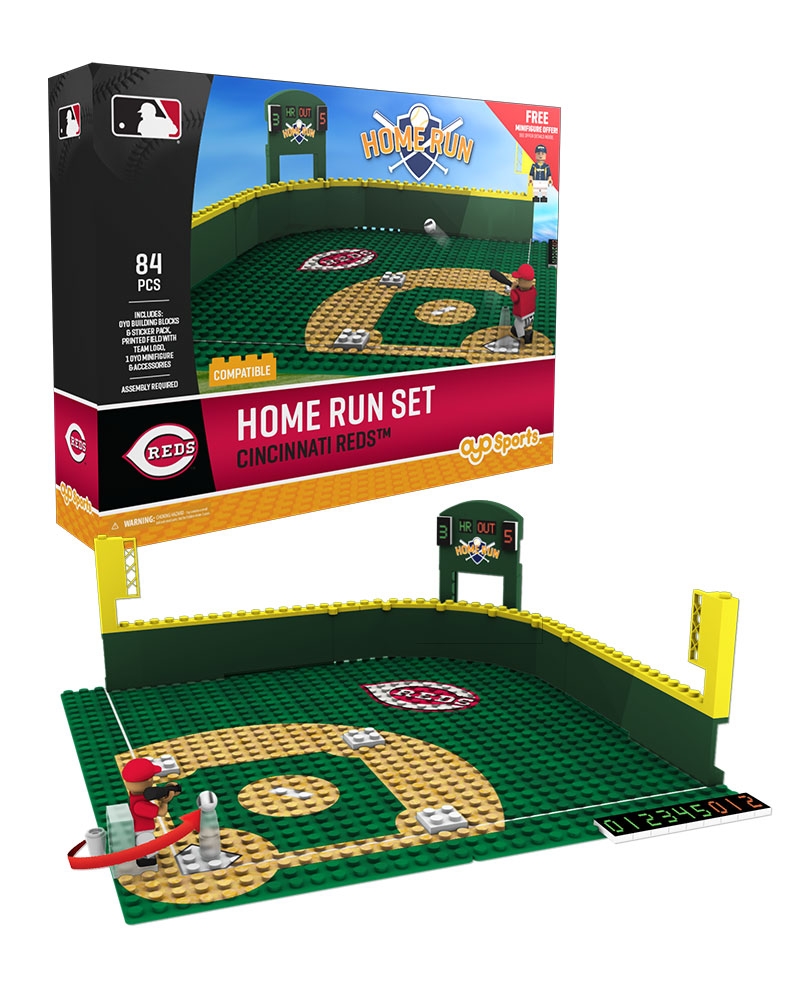 MLB CIN CincinnatiÿReds Baseball Home Run Derby Set