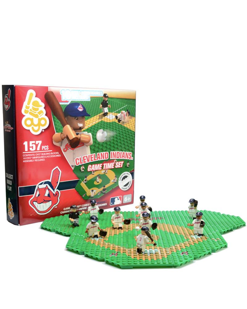 MLB CLE Cleveland Indians Baseball Gametime Set 1.5