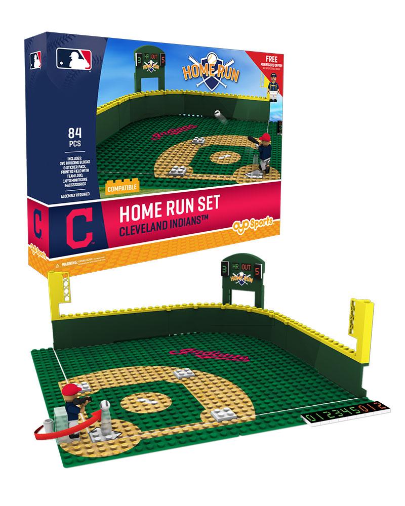 MLB CLE ClevelandÿIndians Baseball Home Run Derby Set