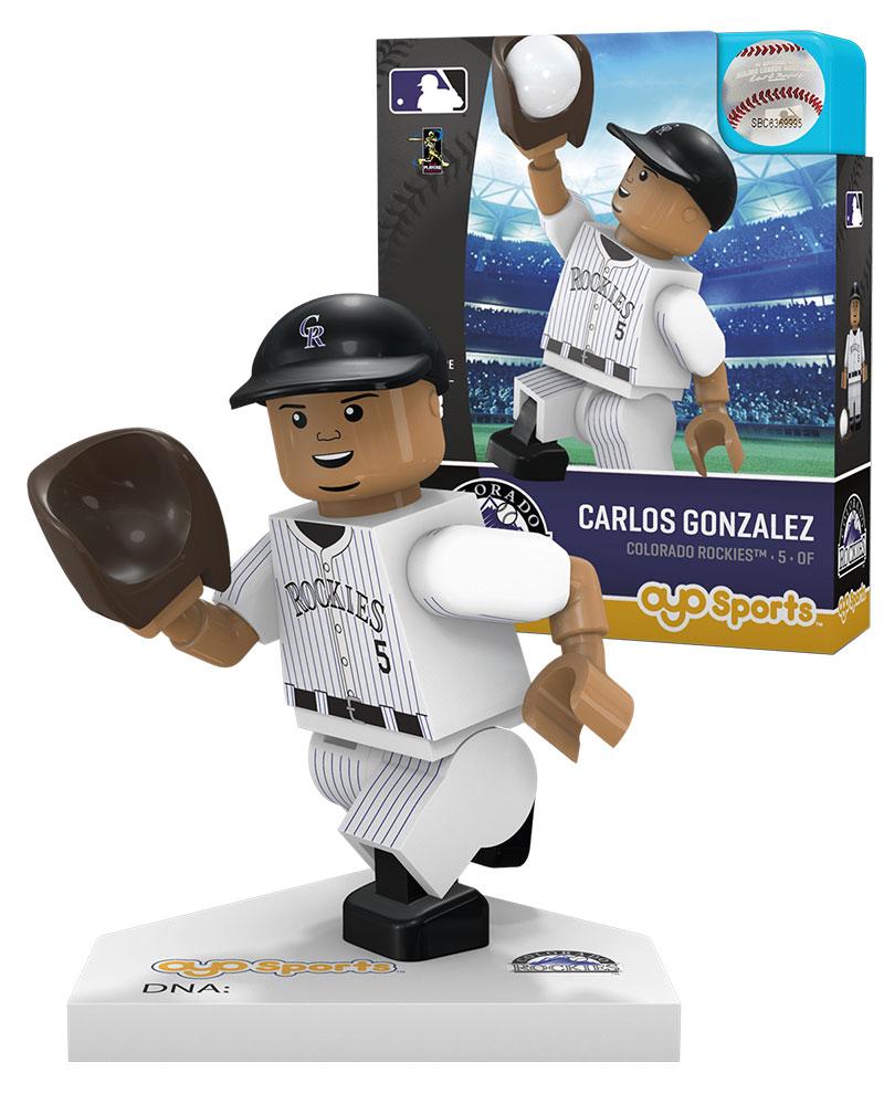 MLB COL ColoradoÿRockies CARLOS GONZALEZ Home Uniform Limited Edition