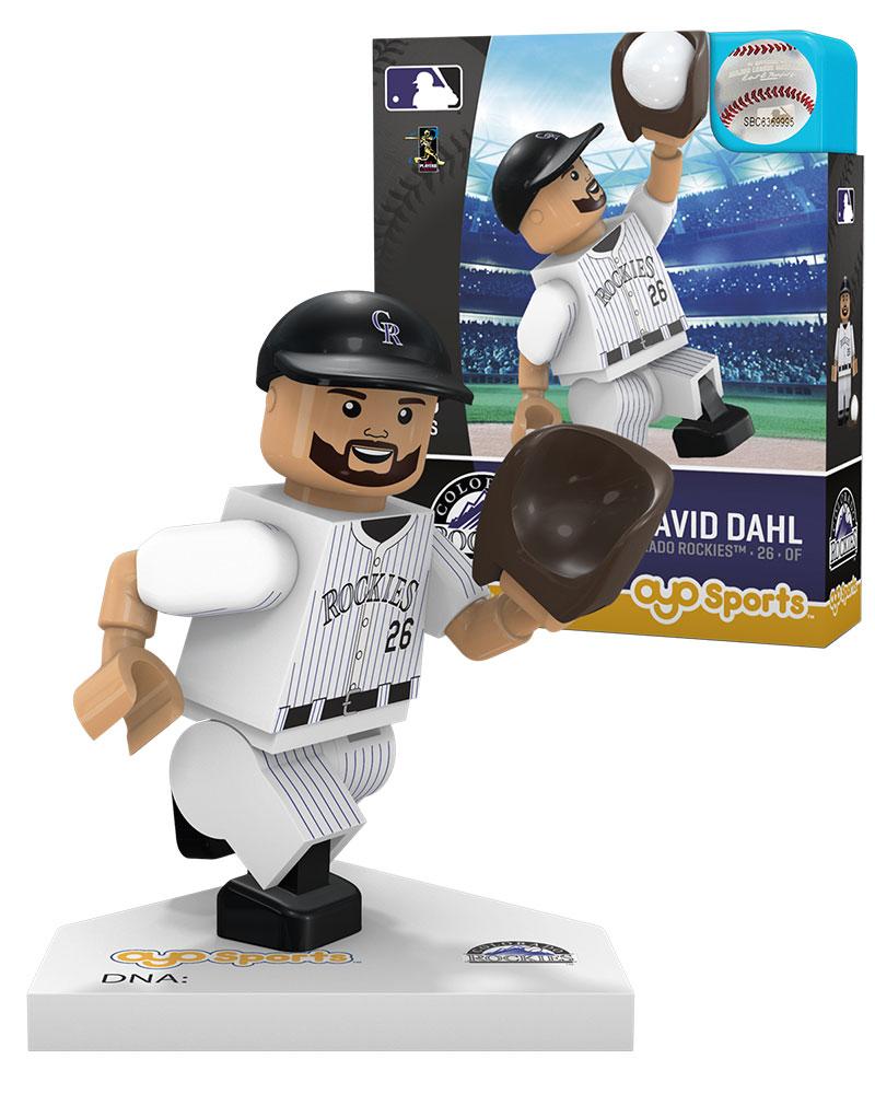 MLB COL ColoradoÿRockies DAVID DAHL Home Uniform Limited Edition
